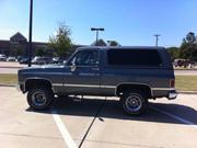 CHEVROLET BLAZER Chevrolet Blazer Silverado,  Custom Deluxe