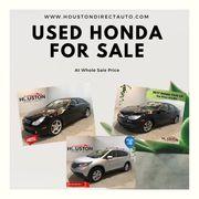 Honda Dealership Used Cars In Houston - HDA
