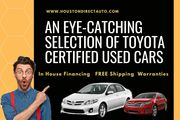 An Eye-Catching Selection Of Toyota Certified Used Cars