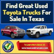 Find Used Toyota Trucks For Sale With Great Towing Capacity